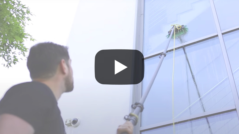 Glasreinigung Rahmenreinigung Video Duisburg