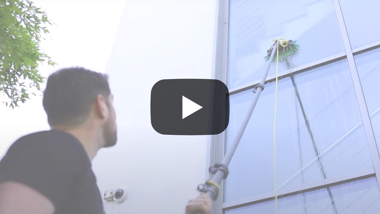 Glasreinigung Rahmenreinigung Video heiden