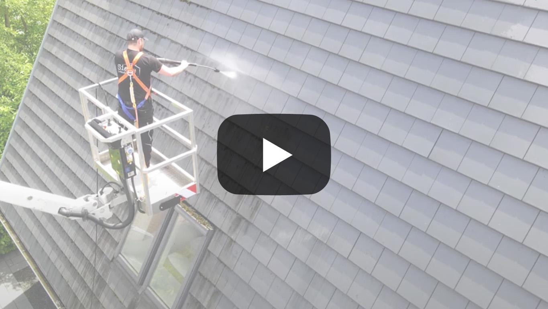 Video Dachreinigung Niederrhein