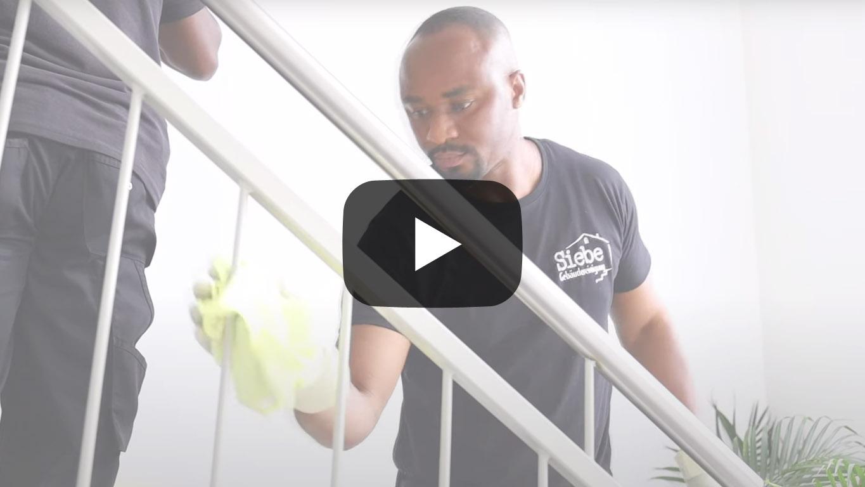 Video Treppenhausreinigung