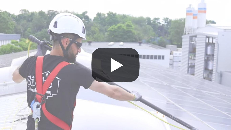Video Solarreinigung Photovoltaikreinigung Hamminkeln