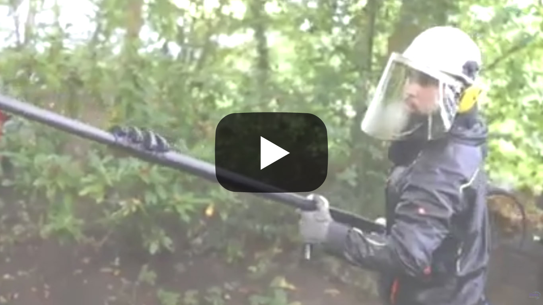 Video Fassadenreinigung Graffitireinigung Kamp-Lintfort